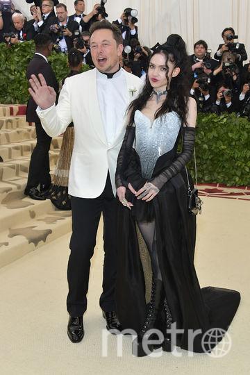 Илон Маск и певица Граймс. Фото Getty