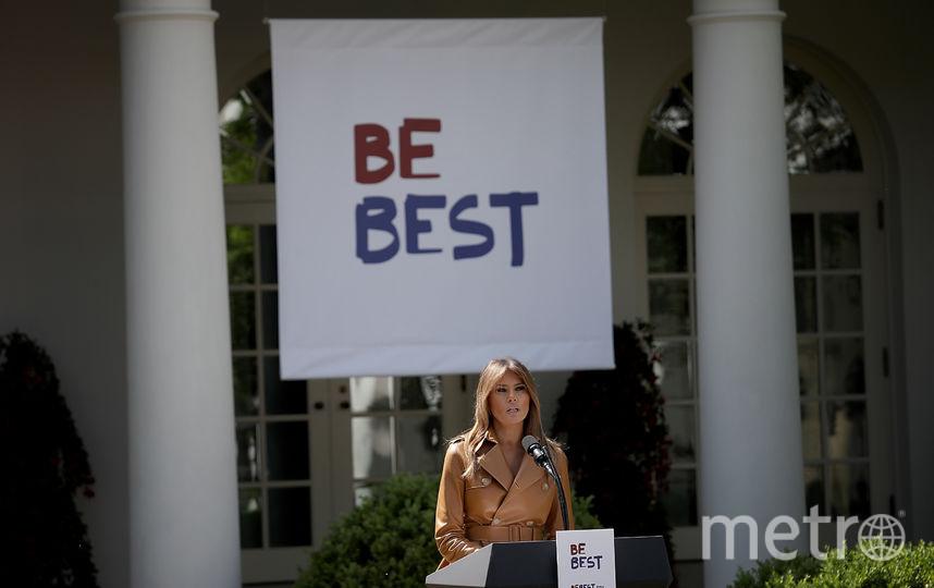 """Мелания Трамп запустила программу """"Будь лучшим"""". Фото Getty"""