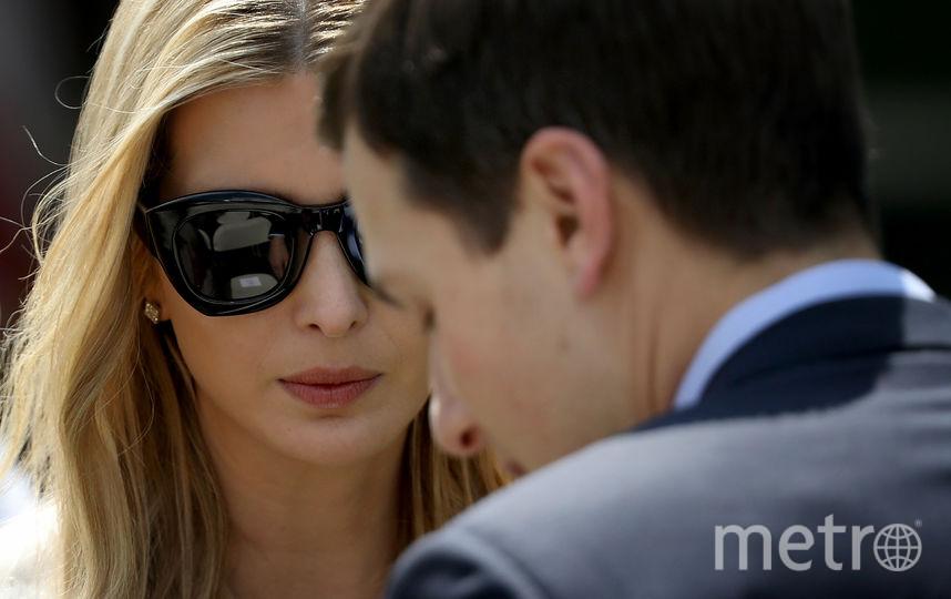 Иванка Трамп и Джаред Кушнер. Фото Getty