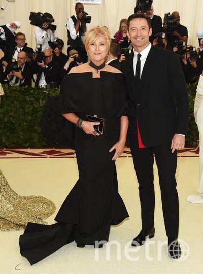 Met Gala-2018. Хью Джекман с женой. Фото Getty