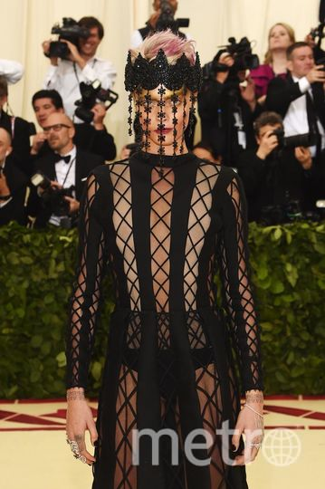 Met Gala-2018. Кара Делевинь. Фото Getty