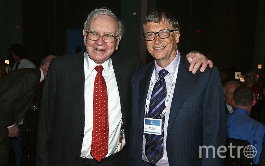 Уоррен Баффет и Билл Гейтс. Фото Getty