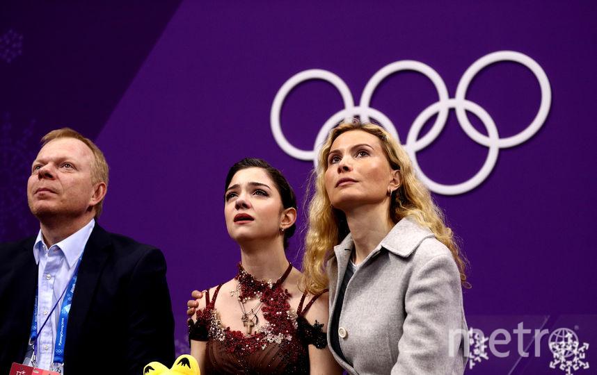 Медведева и Тутберидзе. Фото Getty