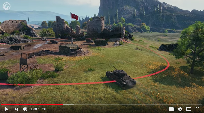 Скриншот из игры World Of Tanks. Фото официальный канал World Of Tanks на YouTube.