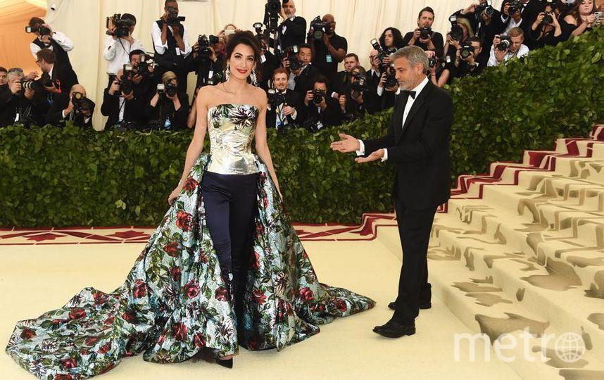 Met Gala-2018. Амаль Клуни и Джордж Клуни. Фото Getty