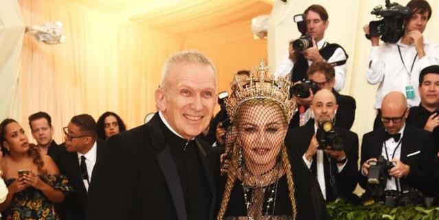 Met Gala-2018. Мадонна.