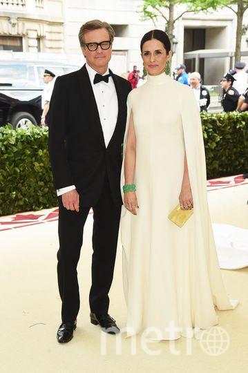 Met Gala-2018. Колин Ферт с женой Ливией Джуджолли. Фото Getty