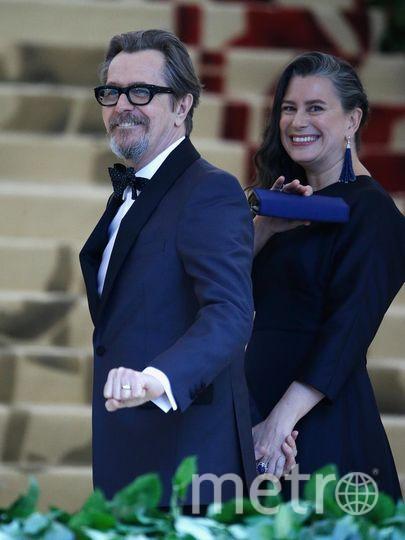 Met Gala-2018. Гари Олдман и Жизель Шмидт, его пятая жена. Фото Getty