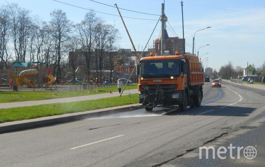 Запервую неделю мая спетербургских улиц вывезли 700 тонн мусора