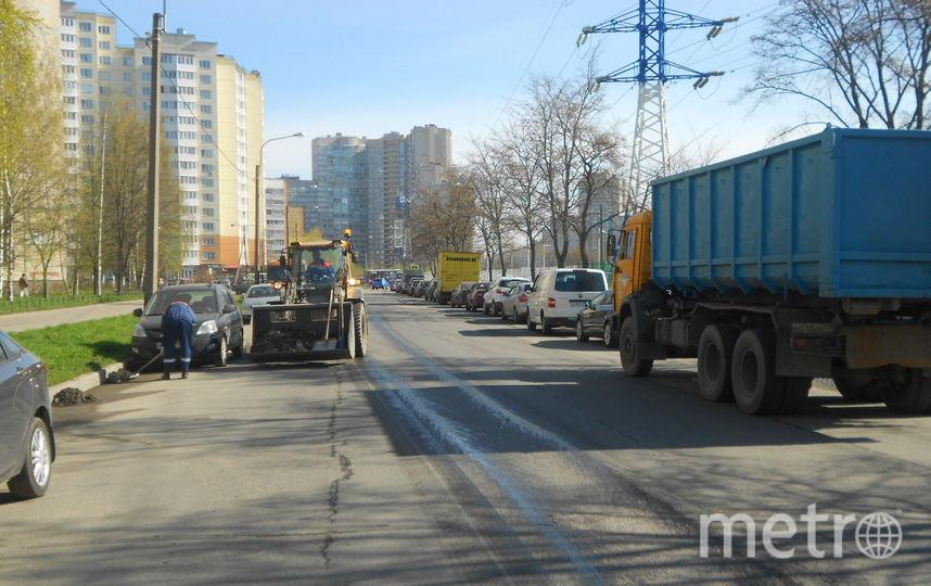С улиц Петербурга убрали 700 тонн мусора за первую неделю мая. Фото www.gov.spb.ru