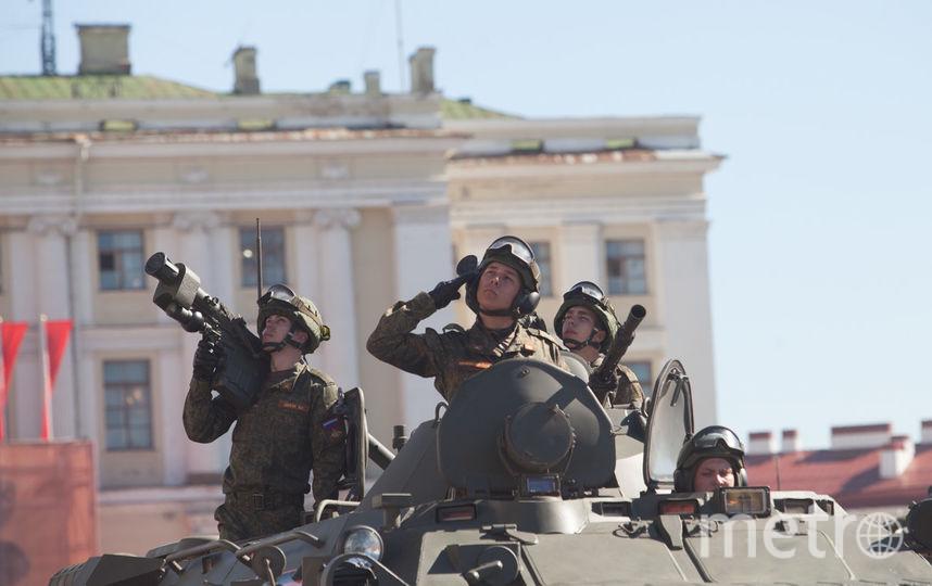 """Генеральная репетиция парада. Фото """"Metro"""""""
