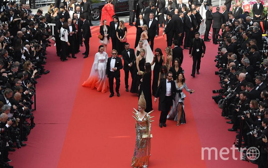 Лена Ленина на Каннском кинофестивале-2018. Фото AFP