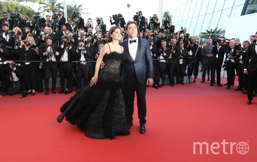 Пенелопа Круз вместе с мужем – испанским актёром Хавьером Бардемом. Фото AFP