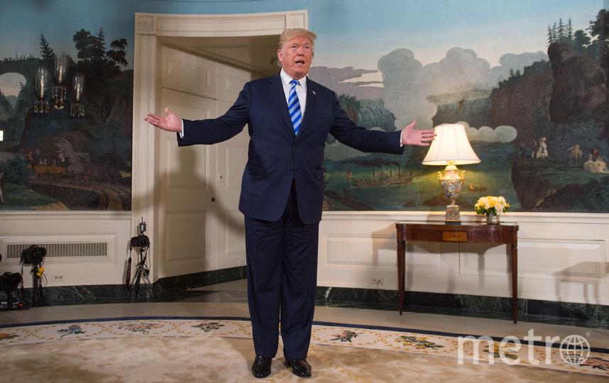 Трамп принял решение выйти из ядерной сделки с Ираном. Фото AFP