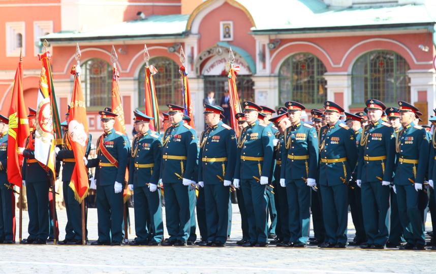 Парад Победы в Москве. Фото vk.com