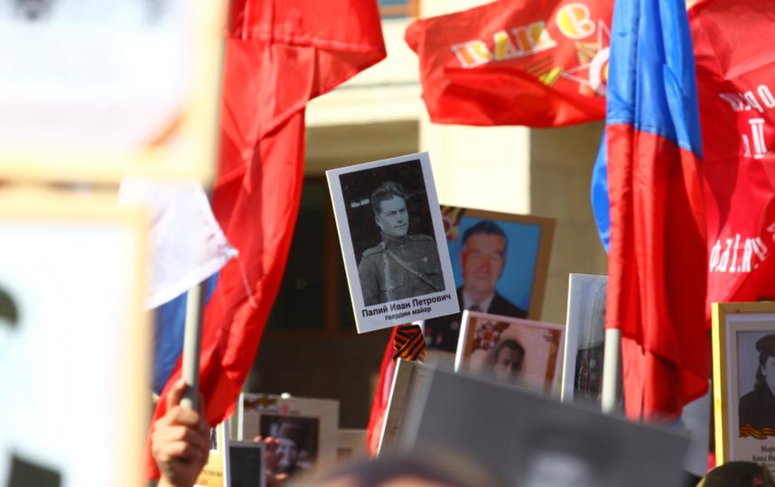 """Шествие """"Бессмертного полка"""" в Москве. Фото Василий Кузьмичёнок, """"Metro"""""""
