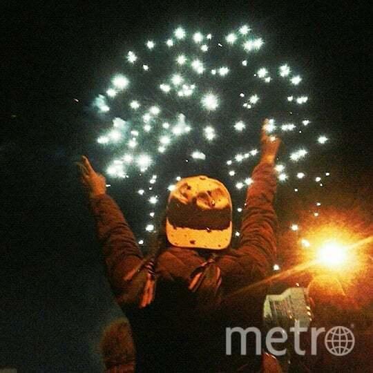 Праздничный салют в честь Дня Победы в Москве. Фото https://www.instagram.com/xlinova_rina/