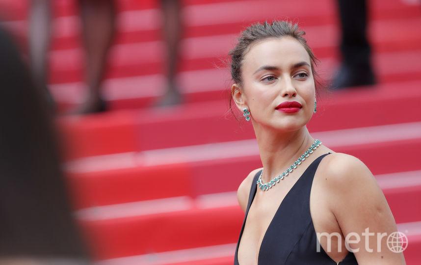 Ирина Шейк в Каннах блистала в черном шикарном наряде. Фото Getty