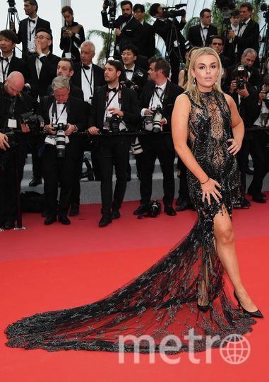 Красная дорожка Каннского кинофестиваля. Талия Сторм. Фото Getty