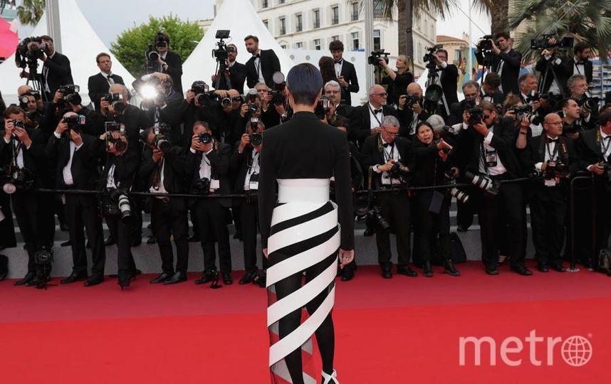 Красная дорожка Каннского кинофестиваля. Китайская певица Ли Юйчунь. Фото Getty