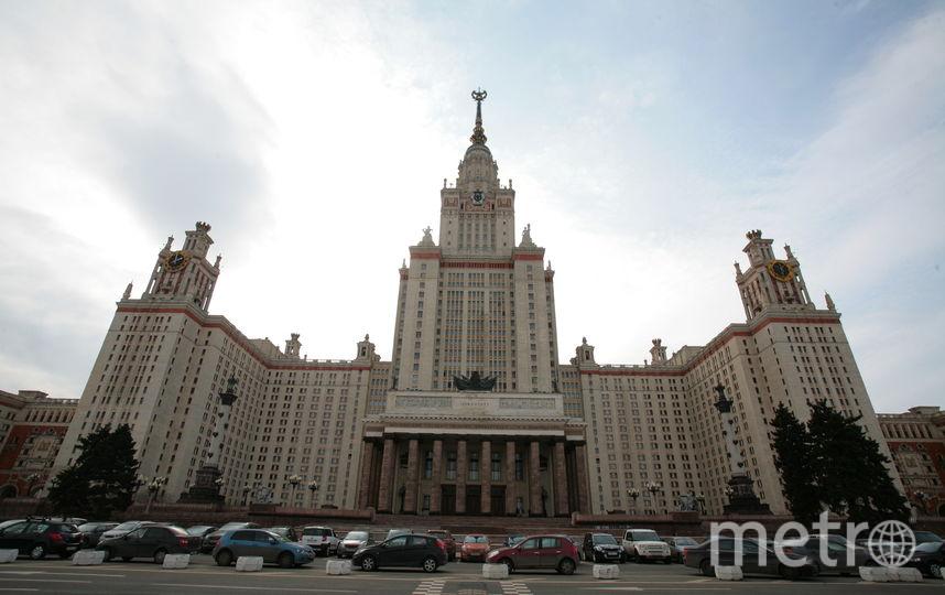Территория МГУ будет закрыта для болельщиков во время чемпионата мира по футболу. Фото Василий Кузьмичёнок