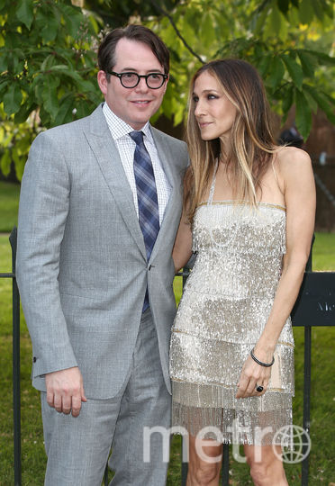 Сара Джессика Паркер с мужем Мэттью Бродериком. Фото Getty