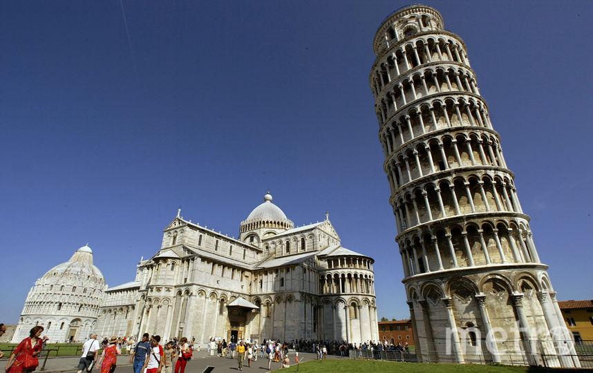 Пизанская башня в Италии. Фото Getty