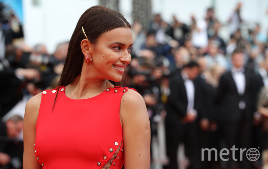 Ирина Шейк в Каннах. Фото AFP