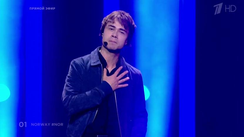 Александр Рыбак, Норвегия. Евровидение - 2018. Фото Все - скриншот YouTube