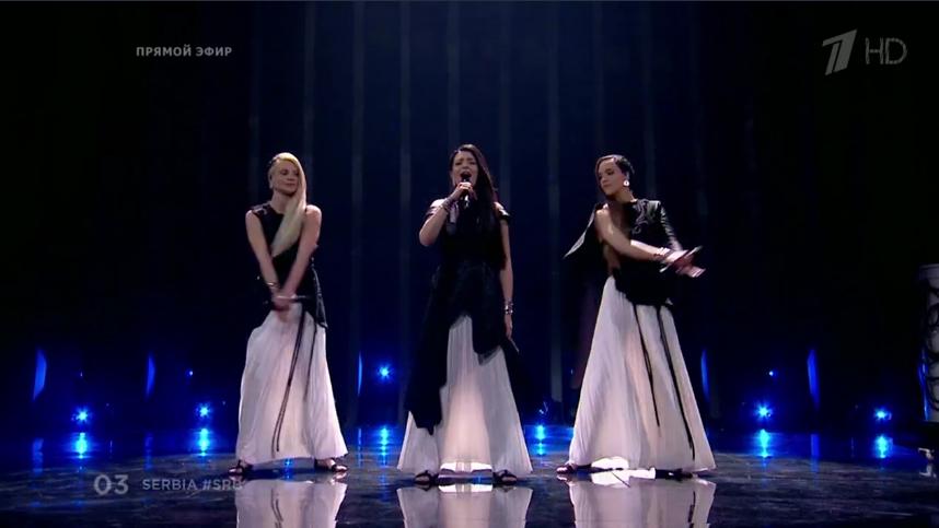 Sanja Ili & Balkanika, Сербия. Евровидение - 2018. Фото Все - скриншот YouTube