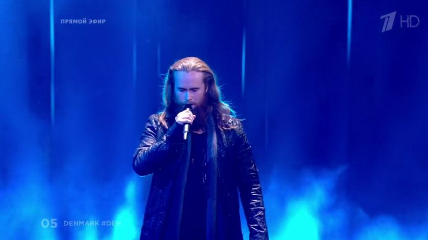 Rasmussen, Дания. Евровидение - 2018. Фото Все - скриншот YouTube