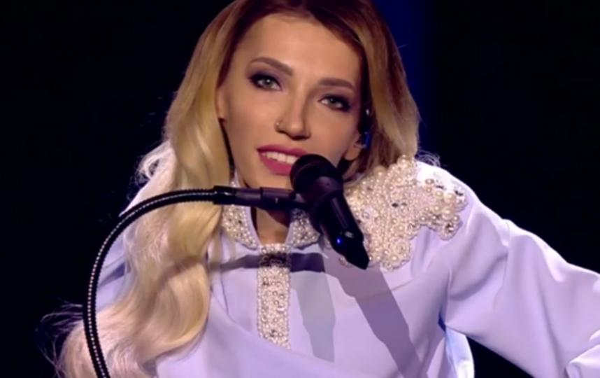 Юлия Самойлова, выступление во втором полуфинале Евровидения - 2018. Фото скриншот YouTube