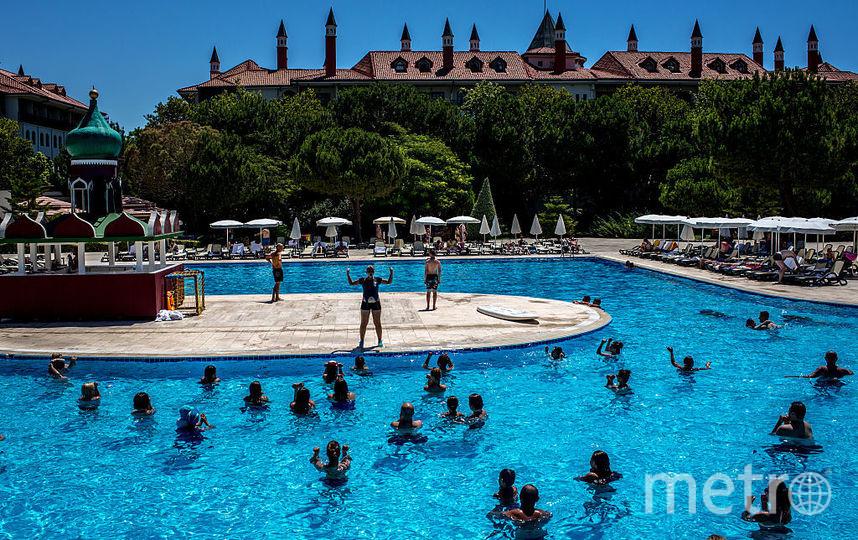 Аэробика в бассейне. Фото Getty