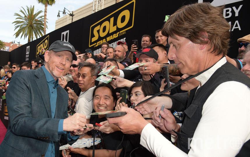 """Фото с премьеры фильма """"Хан Соло: Звёздные Войны. Истории"""". Рон Ховард, режиссер фильма. Фото Getty"""