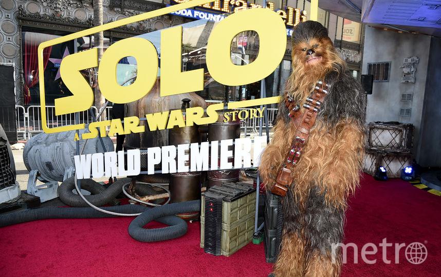 """Фото с премьеры фильма """"Хан Соло: Звёздные Войны. Истории"""". Чубакка. Фото Getty"""