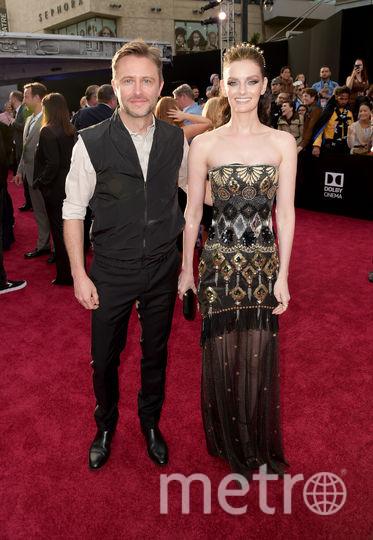 """Фото с премьеры фильма """"Хан Соло: Звёздные Войны. Истории"""". Крис Хардвик и его жена Лидия Херст. Фото Getty"""