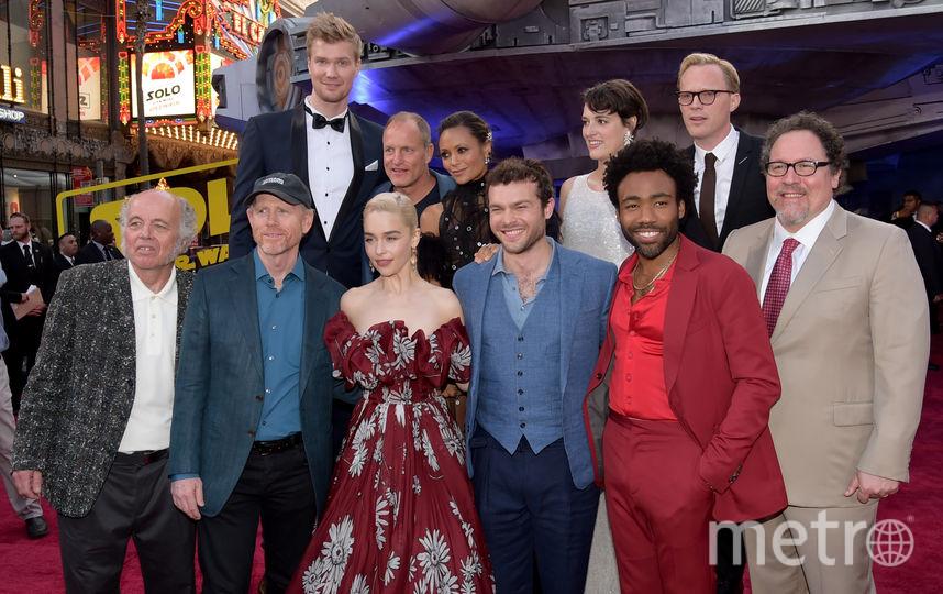 """Фото с премьеры фильма """"Хан Соло: Звёздные Войны. Истории"""". Актеры фильма. Фото Getty"""