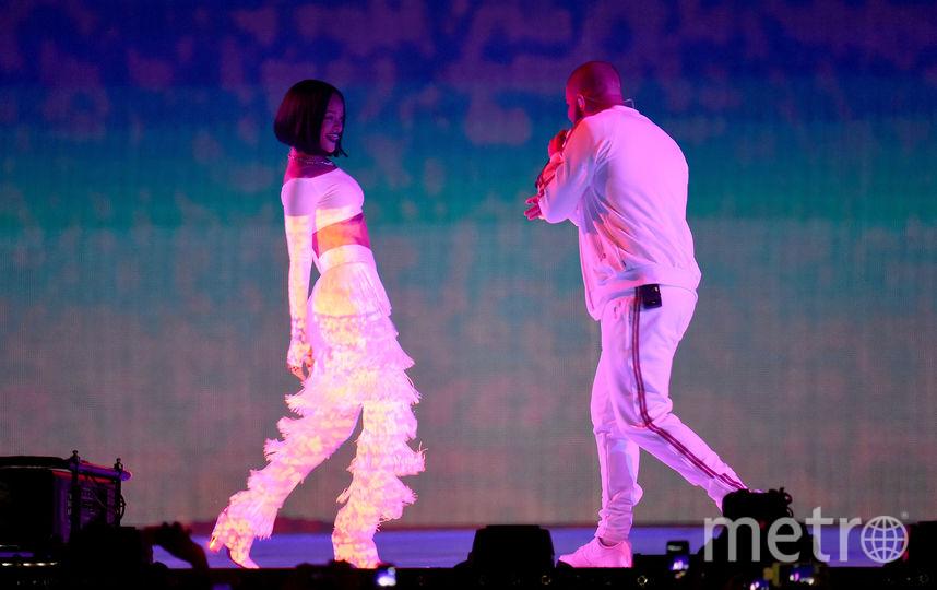 Рианна и Drake. Фото Getty