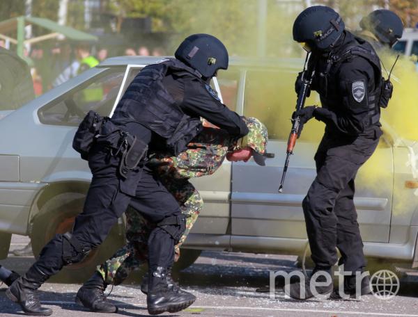 Всего задержано 20 человек. Фото РИА Новости