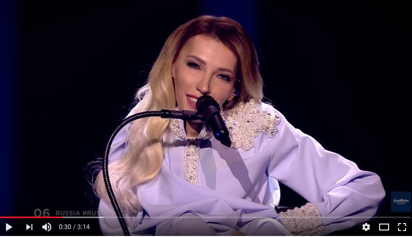Юлия Самойлова. Фото скриншот https://www.youtube.com/watch?v=KujGHwyfMWM