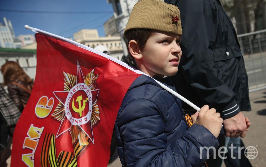 День Победы в Украине предагается перенести с 9 на 8 мая. Фото Getty
