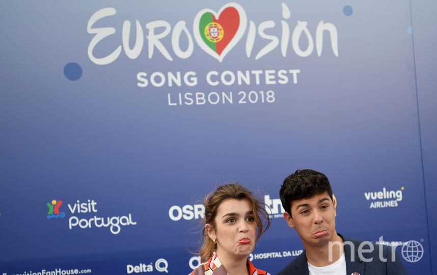 """Участники """"Евровидения-2018"""". Фото AFP"""
