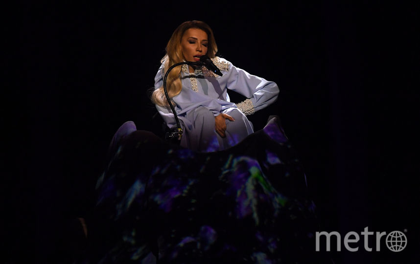 "Юлия Самойлова на ""Евровидении-2018"". Фото AFP"