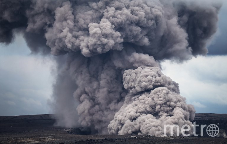 Извержение вулкана Килауэа на Гавайях. Фото AFP