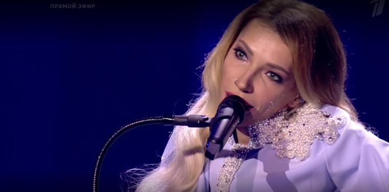 Юли Самойлова приняла участие в полуфинале Евровидения - 2018. Фото Все - скриншот YouTube