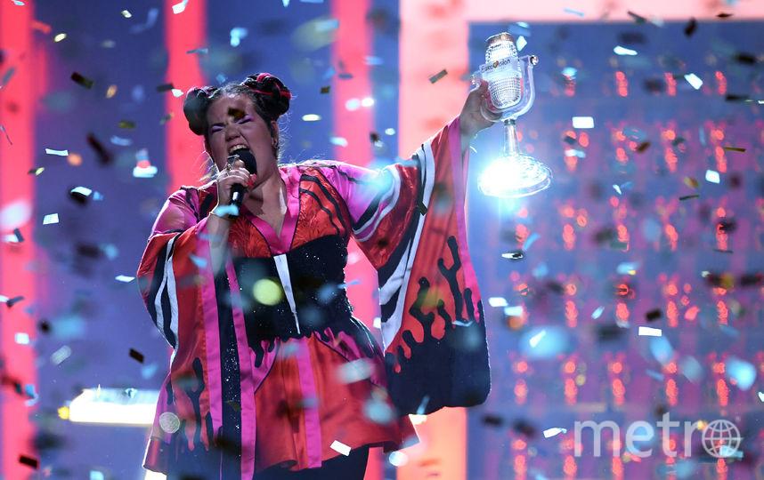 Певица Нетта, представлявшая Израиль, заняла первое место на песенном конкурсе «Евровидение», который в ночь на 13 мая проходил в столице Португалии. Фото AFP