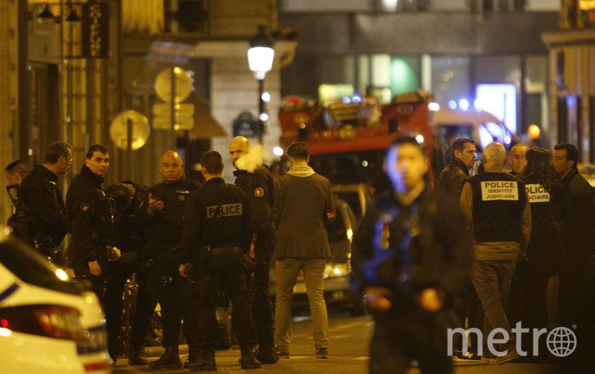 Нападавший был застрелен полицией в районе у парижской оперы. Фото AFP