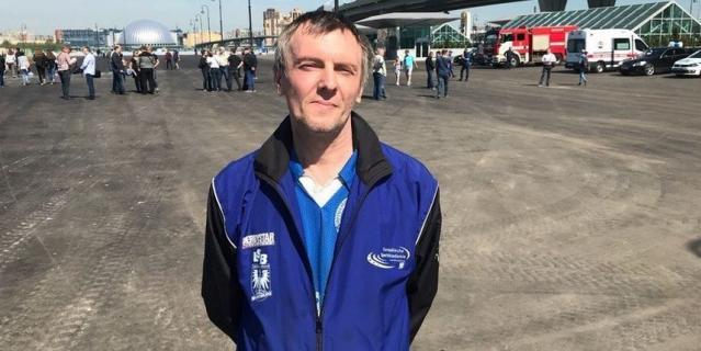 """Юрий Запрудский, работник """"Красного октября"""", 44 года."""