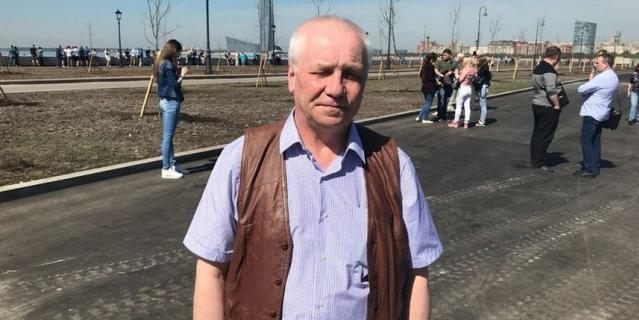 Игорь Петров, дворник в НИУ ВШЭ, 64 года.