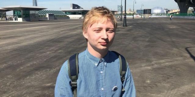 Егор Якунинских, студент СПбГУ, 20 лет.